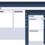 Admin Dashboard responsive menu layout